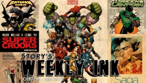 Story's Weekly Ink Oct.2nd - 8th 2012